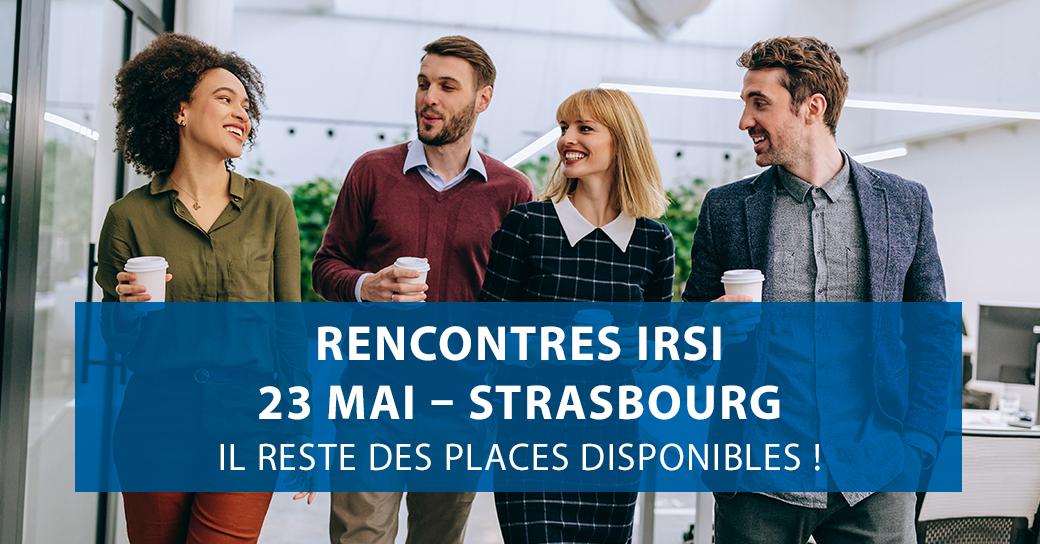 La convention IRSI ? RDV le 23/05 à Strasbourg
