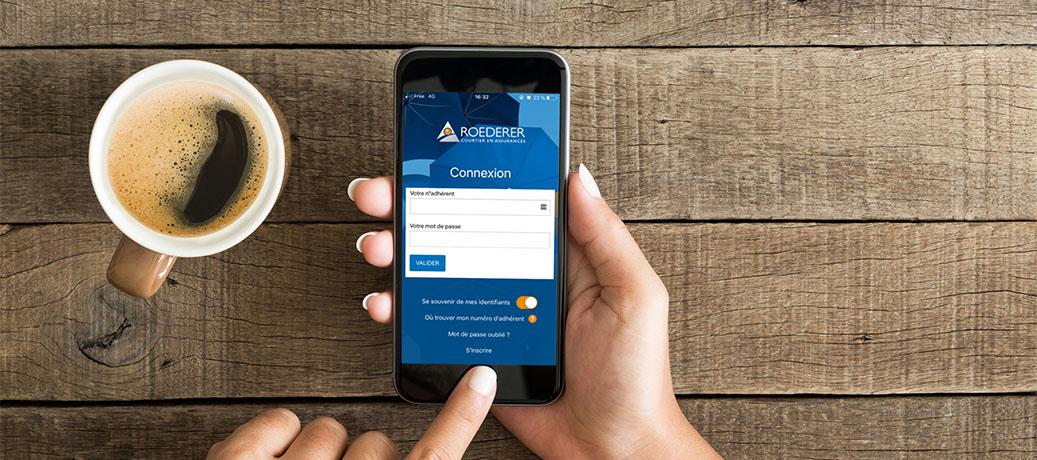 smartphone application roederer